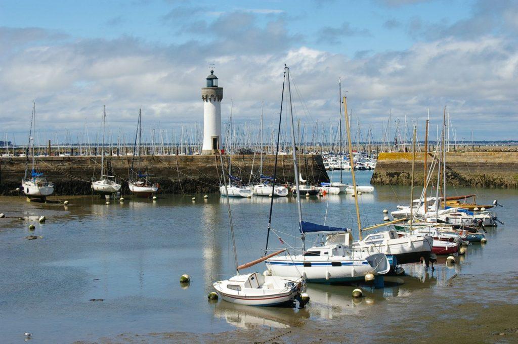 Quiberon harbour