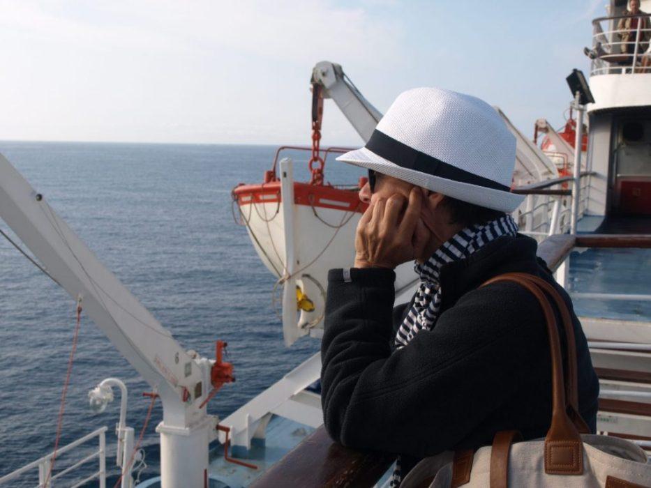contemplating the Mediterranean