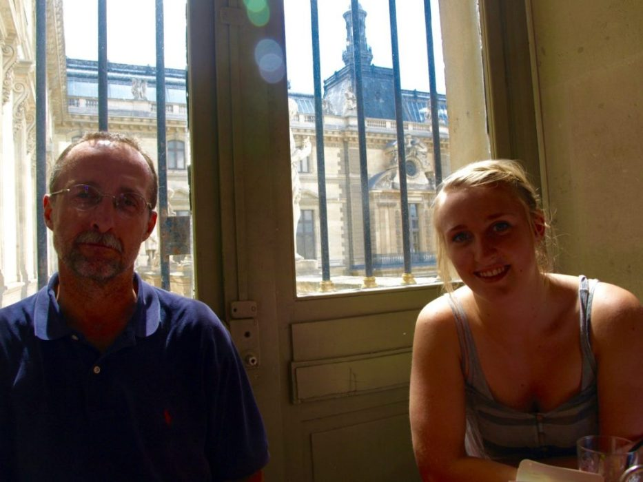 Louvre cafe