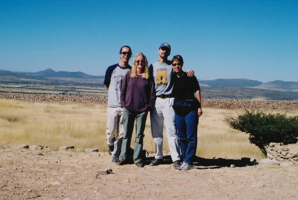 with Lori & Sam