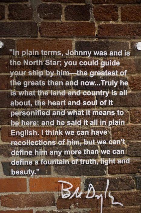 Bob Dylan's tribute