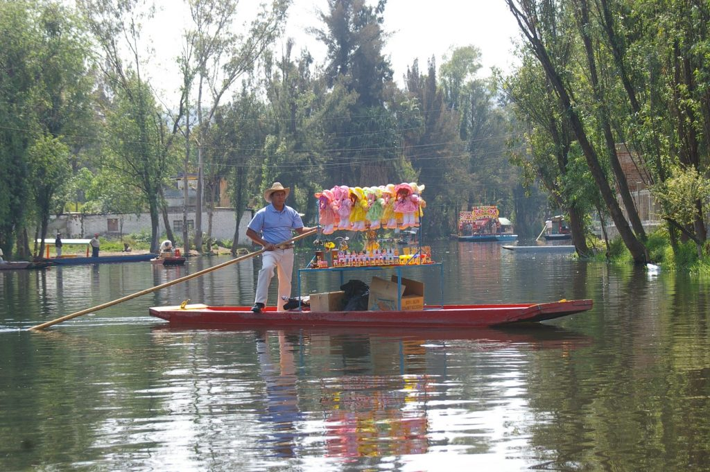 Xochimilco canal trip