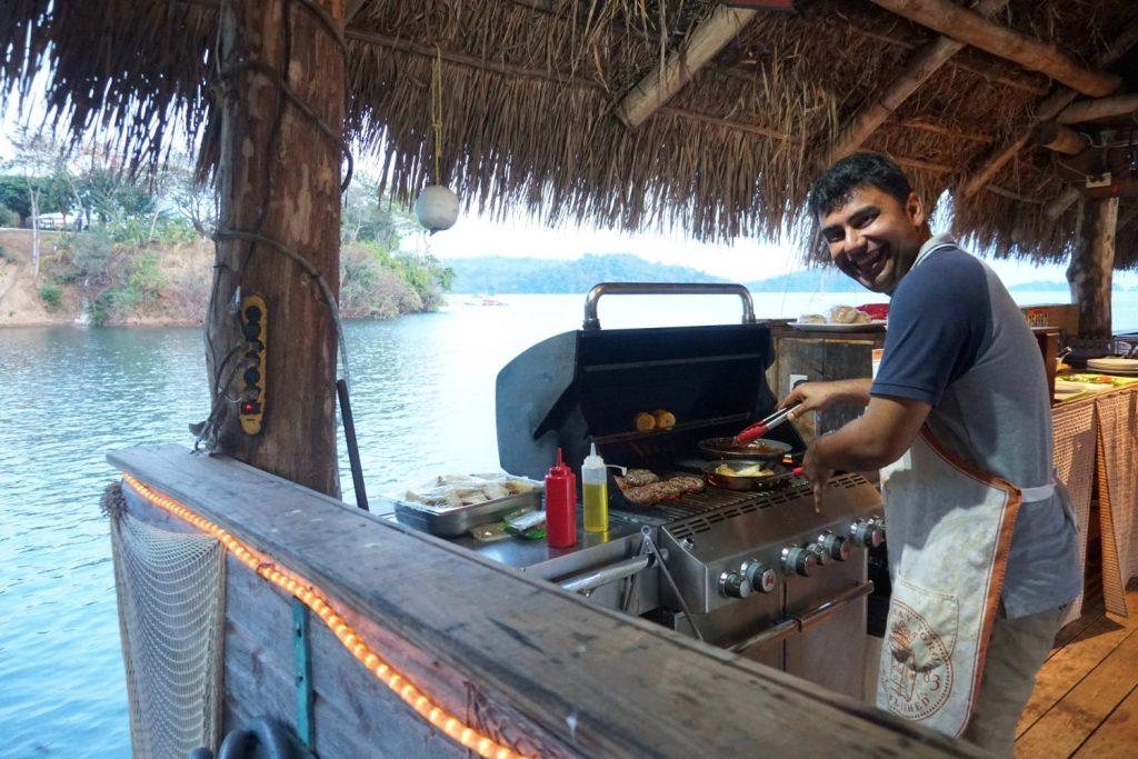 bbqing ribs & burgers