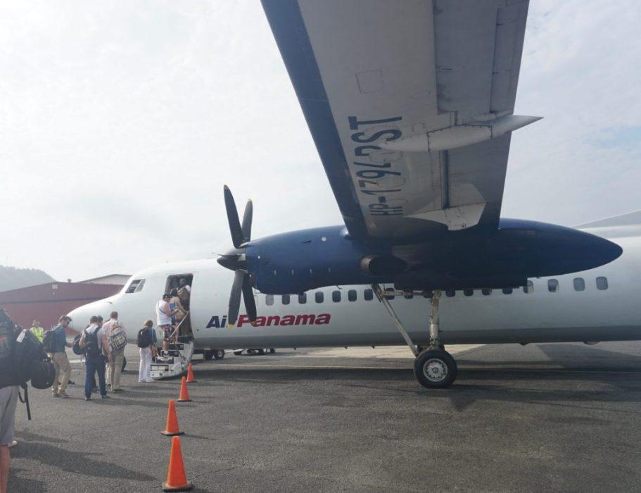 leaving Panama City