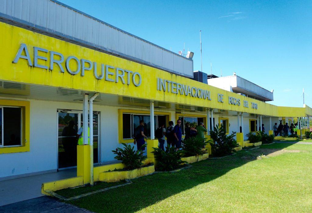 arriving Bocas del Toro