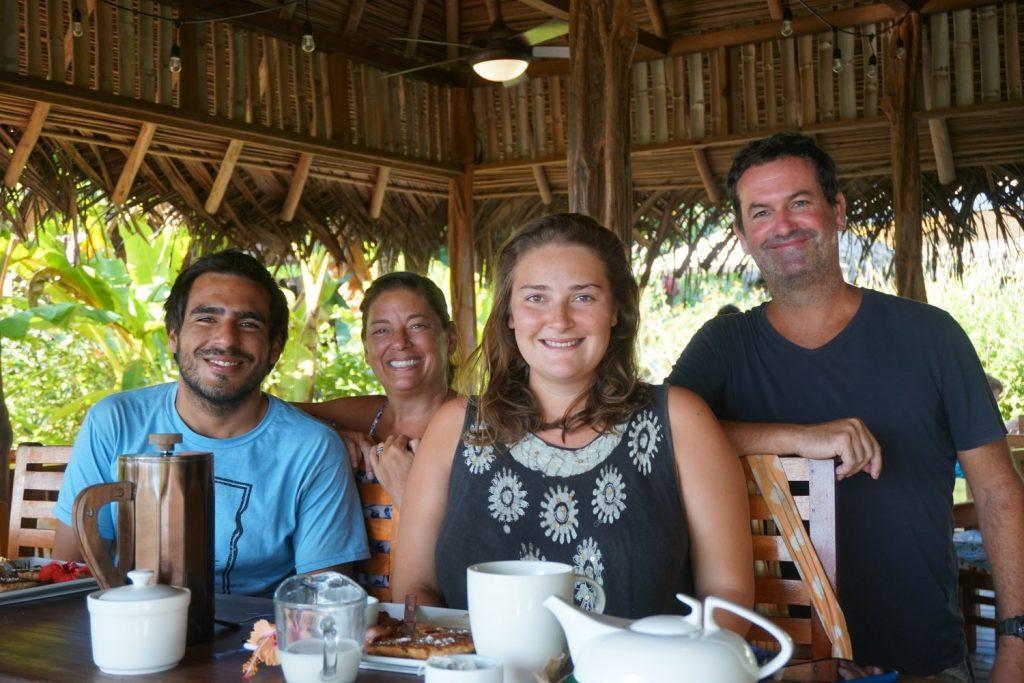 Manuel, Betsy, Olivia, Garry