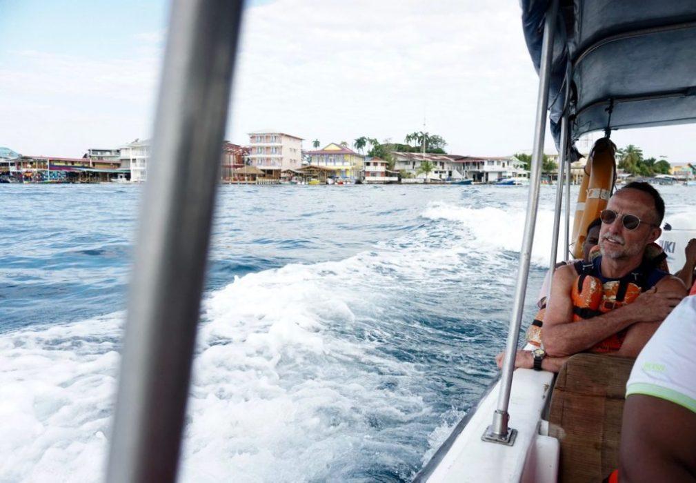 leaving Bocas del Toro
