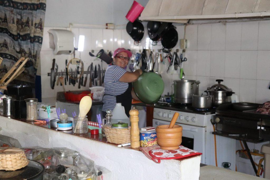 la cocinera