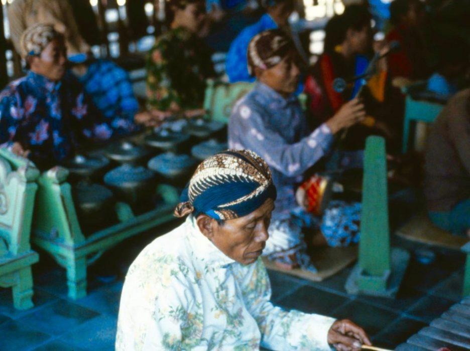 gamelan musicians
