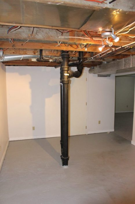 the main driver of the basement design