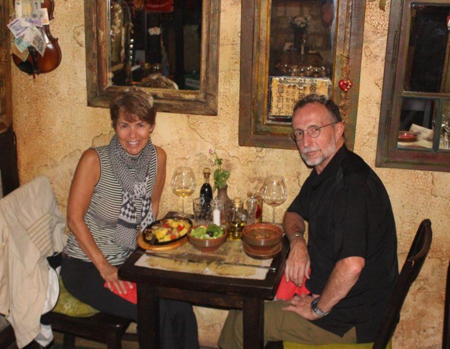 dinner at Dveri