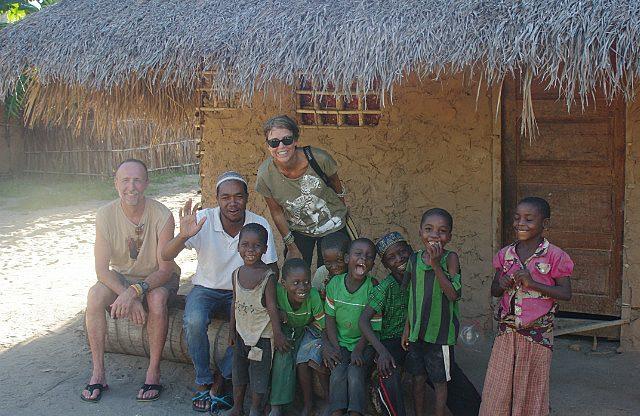 Guludo village group shot