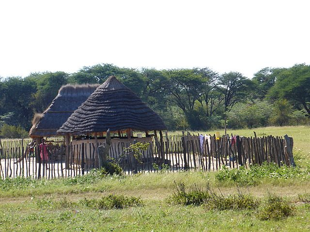 Ngamo huts