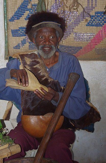 the village medicine man