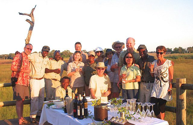 sundowners with the group