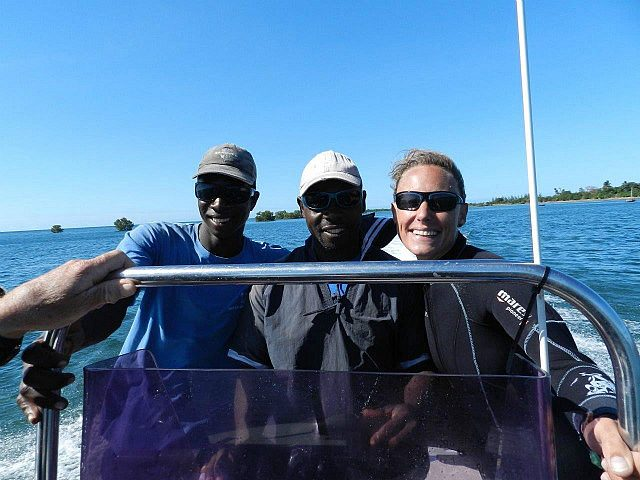 Lorayne, Chikuru & Injaba, our dive crew