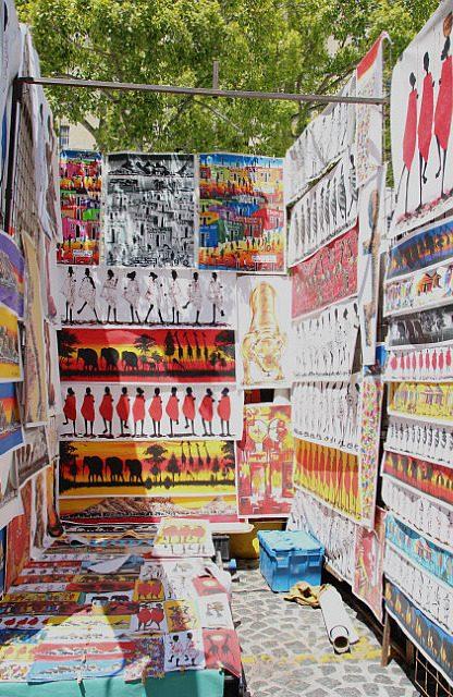 african market art