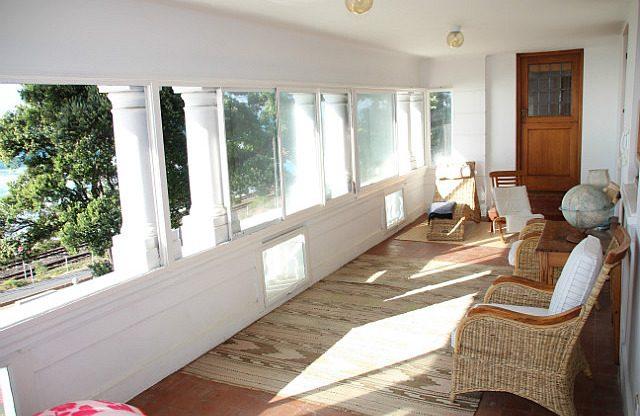 upstairs sun room