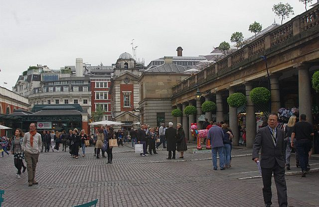 Covent Garden is London's oldest square