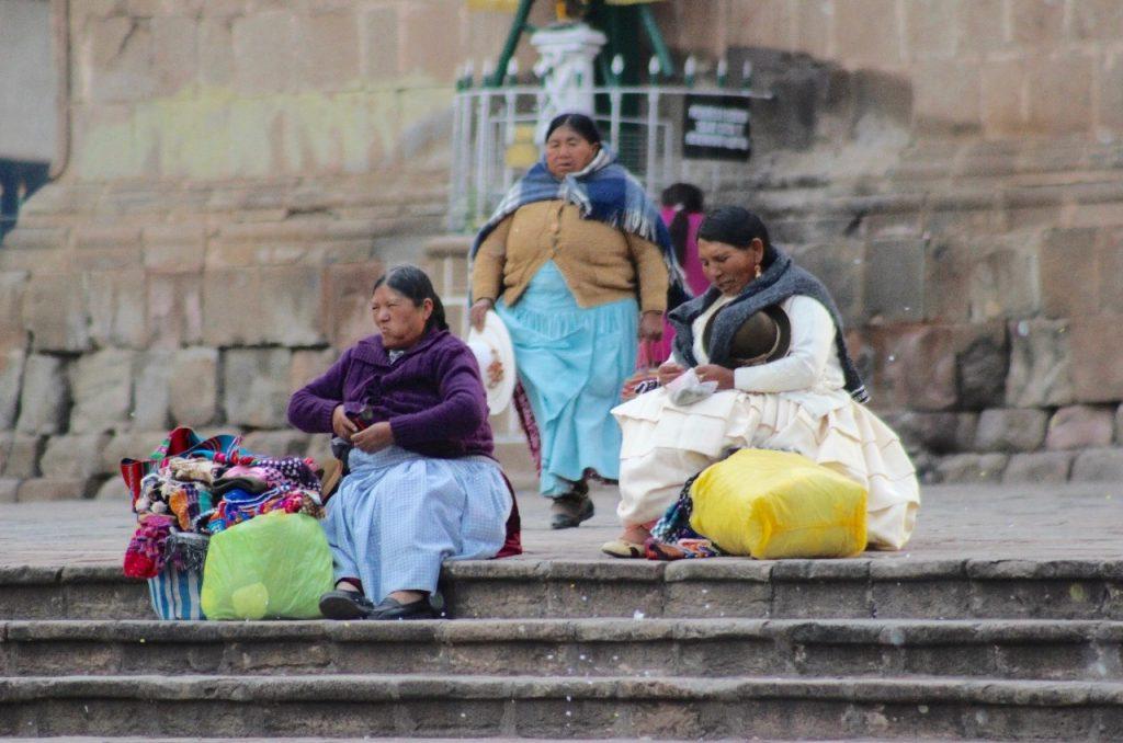 the ladies of Puno