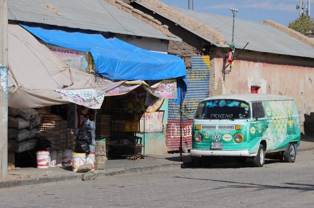 lots of old VW vans around