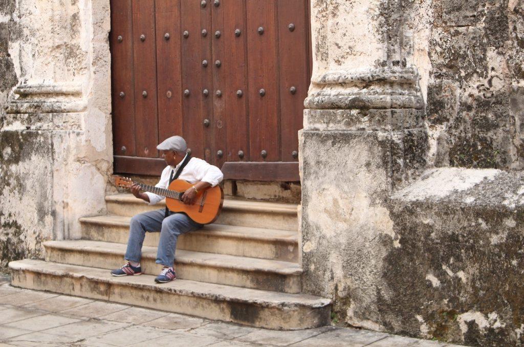 a lone troubadour