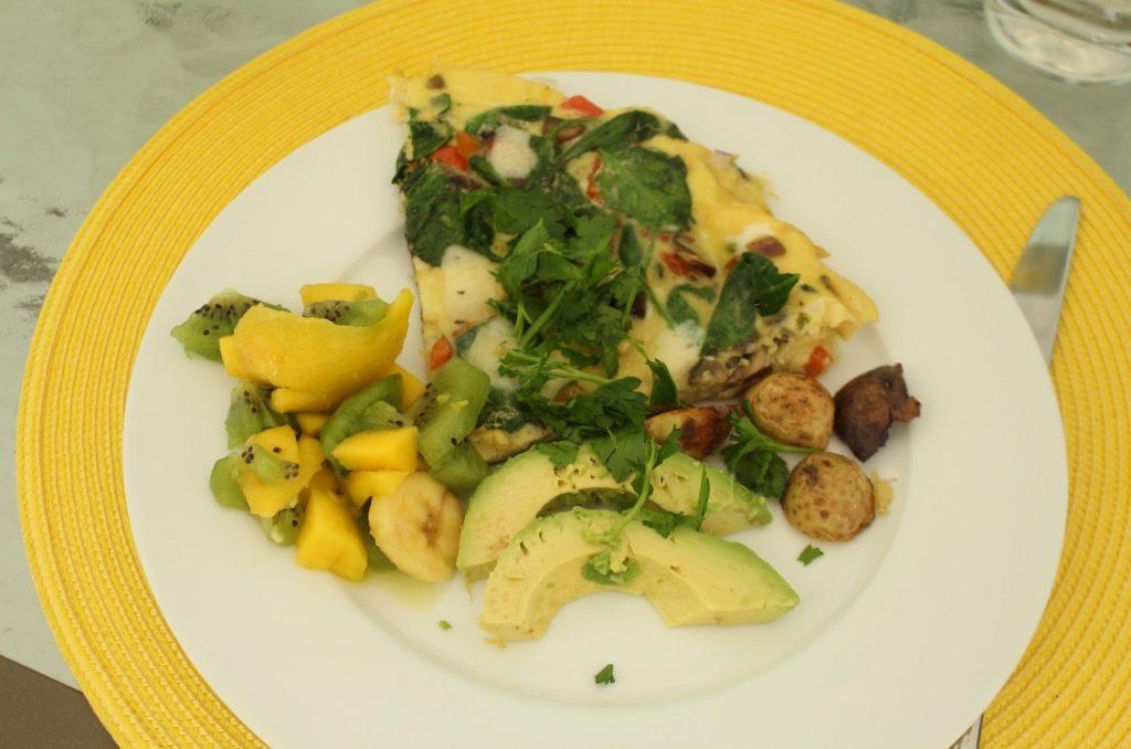 Jelena's tropical feast