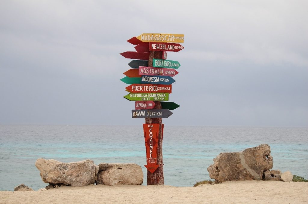the southern tip of Cozumel