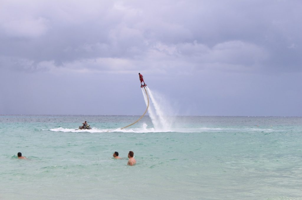 """its called """"flyboarding"""""""