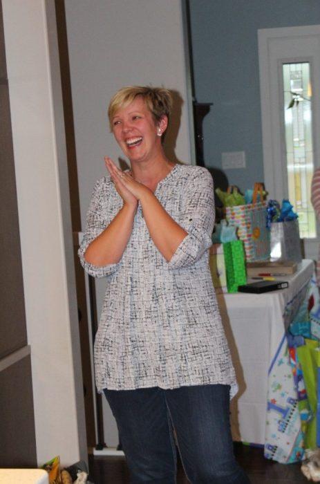 Erin welcoming us