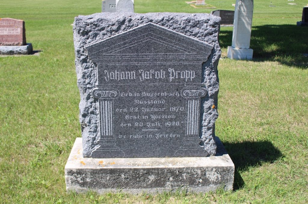 my great grandfather's grave