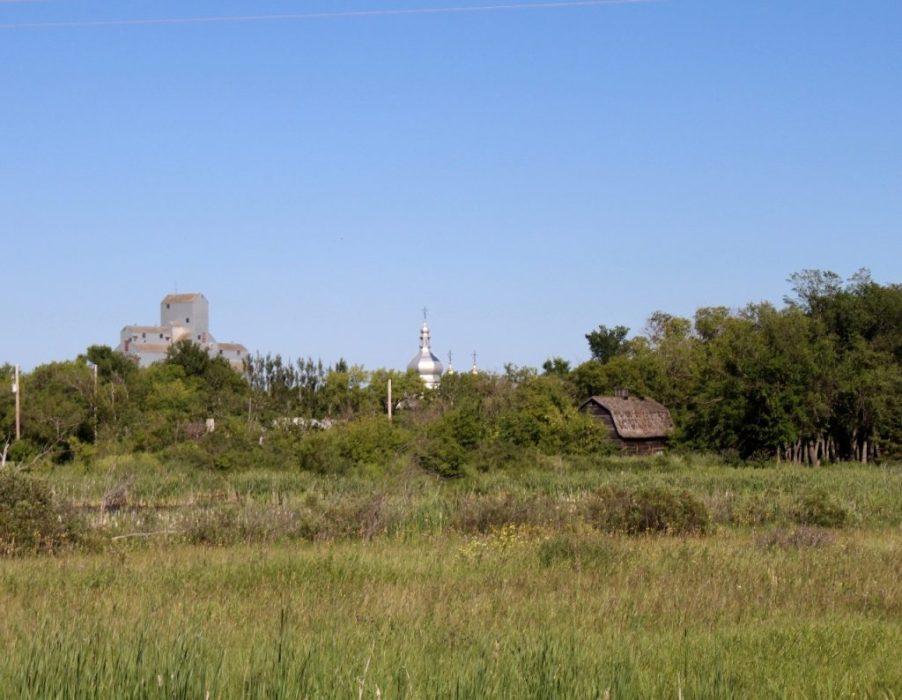prairie town skyline