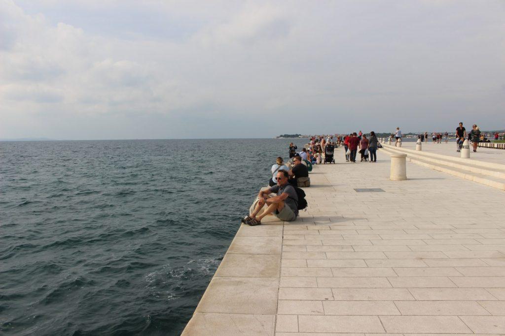 Zadar seaside promenade