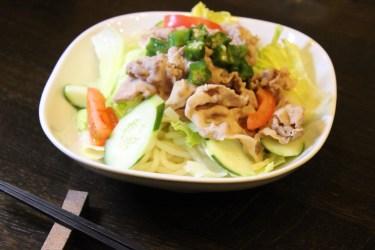 冷しゃぶサラダのレシピとたっぷり野菜にあうタレの種類と作り方