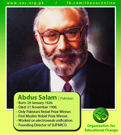 Happy Birthday to Professor Abdus Salam