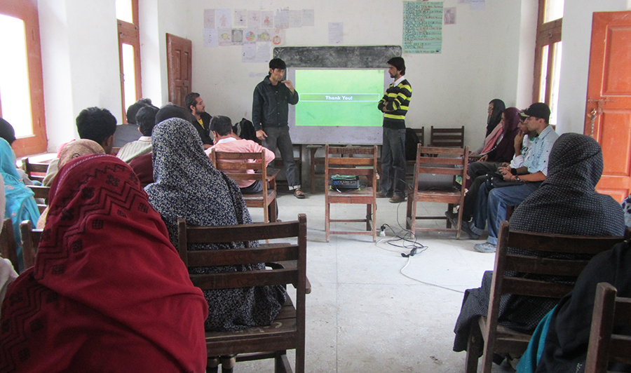 OEC Education in Nagar - a remote village in Gilgit-Baltistan