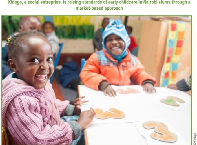 Unpaid care Childcare picture