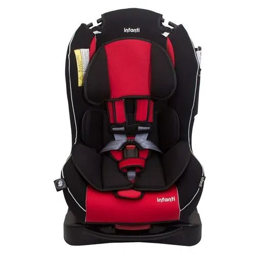 Infanti Silla para Auto Journey V2 Rojo Negro  oechsle