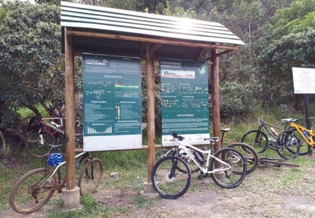 Bicicletas também são bem vindos no Caminho de Cora. Foto: Paula Diniz