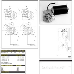 Hella Wiring Diagram 2000 Ford Truck Radio Doga Wiper Motors | Oe Coach Supplies