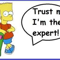 "New blog post: ""Experts: can't live with them, can't live without them"""