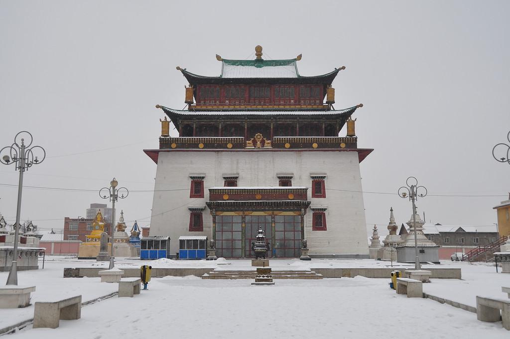 Megjid Janraysig Temple - Ulaan Baatar - Mongolia