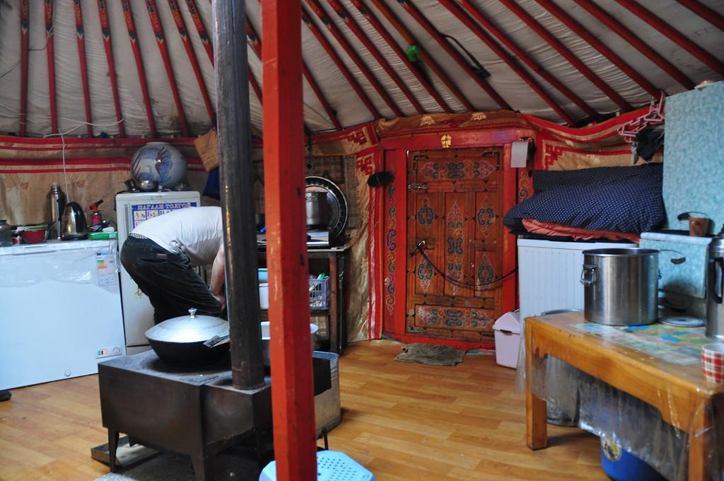 Inside Mongolian Yurt - Terelj National Park - Mongolia