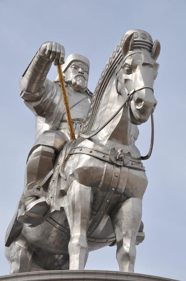 Chinggis Khaan Statue - Mongolia