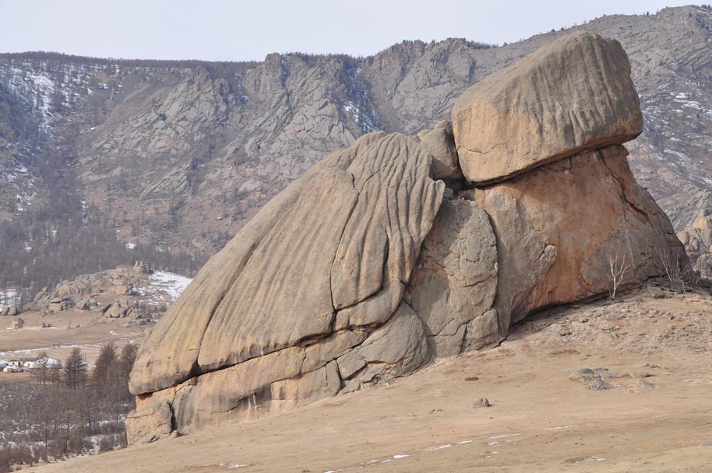 Turtle Rock - Terelj National Park - Mongolia