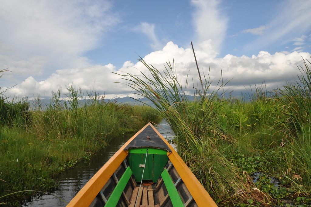 Boat to Maing Thauk, Inle Lake, Myanmar