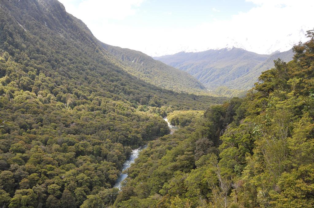 Between Te Anau and Milford Sound, New Zealand