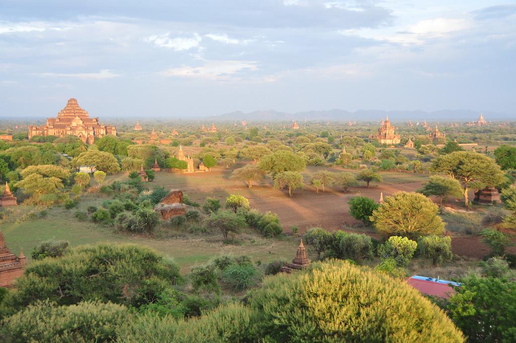 View from Shwesandaw Pagoda, Bagan, Myanmar