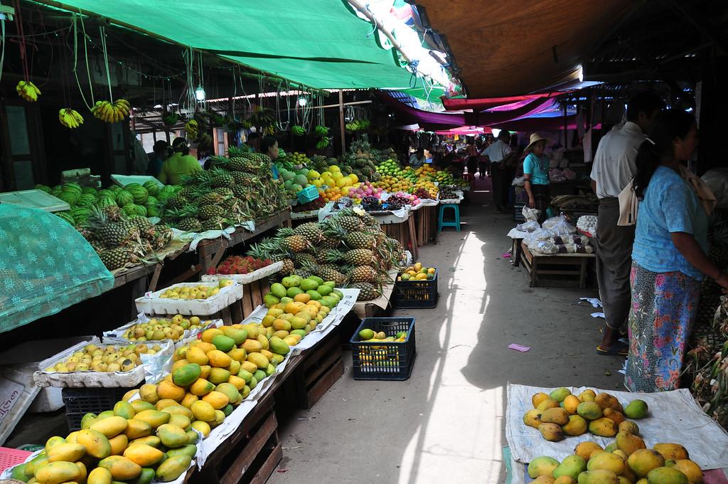Nyaung Shwe Market, Nyaung Shwe, Myanmar