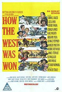La Conquête De L Ouest Film : conquête, ouest, Conquête, L'Ouest, (1962), Henry, Hathaway,, George, Marshall, L'Oeil, L'écran